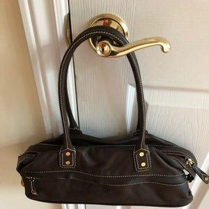 Celine vintage leather shoulder bag